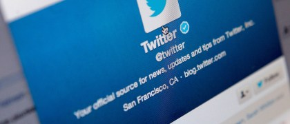 LONDON, ENGLAND - SEPTEMBER 13:  Logos for the microblogging site Twitter, displayed on the internet on September 13, 2013 in London, England. Twitter has announced plans to float on the stockmarket. (Photo by Mary Turner/Getty Images)