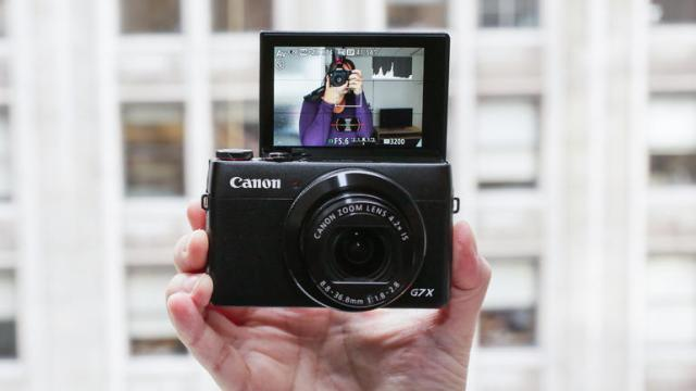 canon-powershot-g7-x04 5 Best Cameras For YouTubers