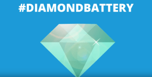 nuclear-diamond-battery-300x152 Parts of Nuclear Waste May be Converted into Diamond Nuclear Batteries that Will Last a Lifetime