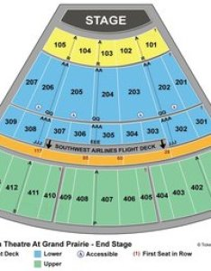 Seating chart for end stage also verizon theatre at grand prairie maplets rh mobilemaplets