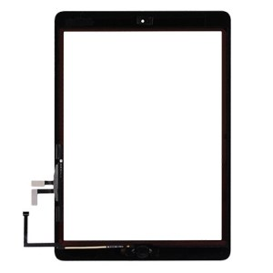 iPad 2017 Digitizer Touch Screen with Adhesive Tape – White