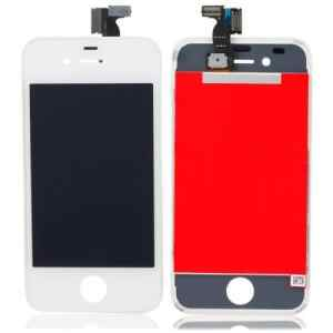 iPhone 4 LCD Display Replacement (AAA Quality) White