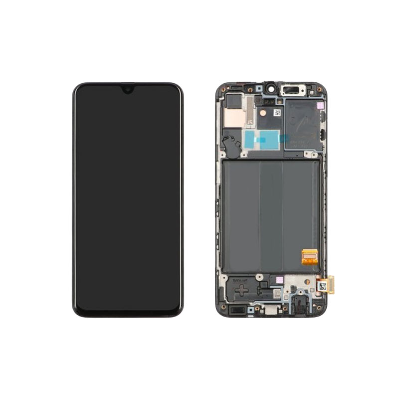 Galaxy A40 A405F Service Pack LCD Display Replacement Black