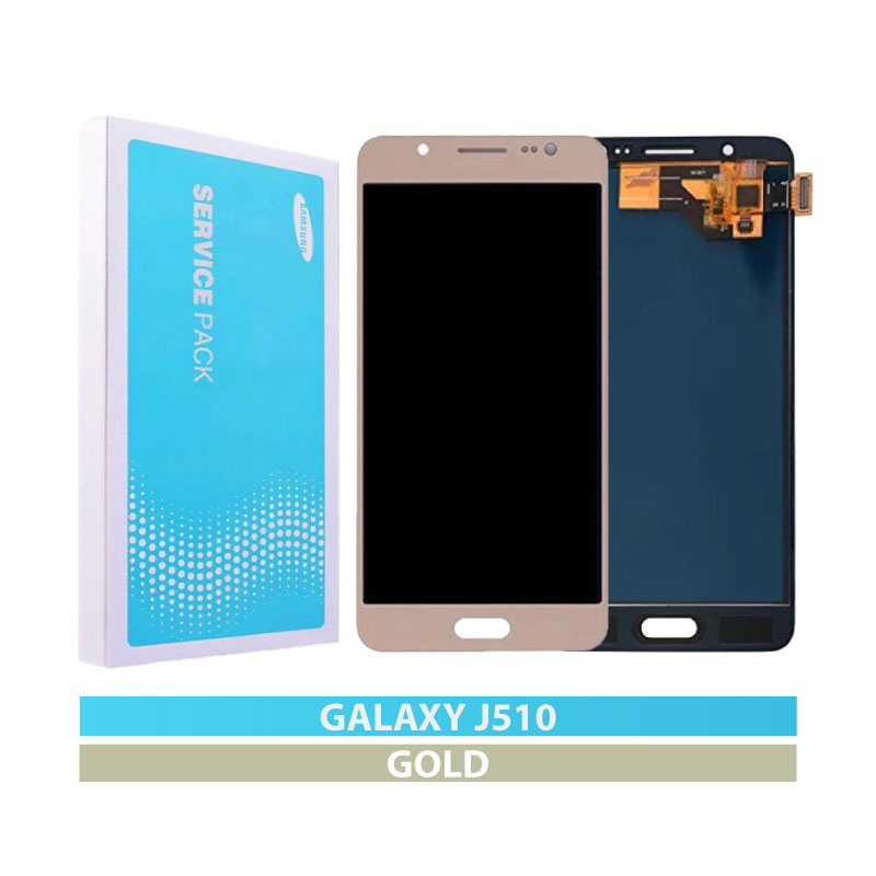 Galaxy J5 2016 (J510) LCD and Digitizer Touch Screen Assembly – Gold