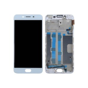 Oppo R9S LCD and Digitizer Touch Screen Assembly – White