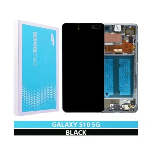 Galaxy S10-5G G977 Service Pack Display Replacement Majestic Black