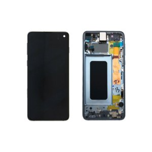Galaxy S10 G973 Service Pack LCD Display Replacement Prism Blue