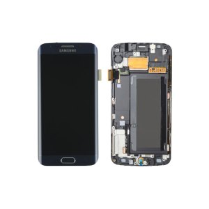 Galaxy S6 Edge G925I Service Pack LCD Display Replacement Black