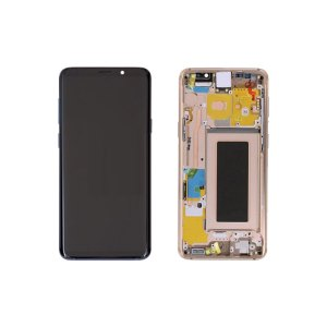 Galaxy S9 Plus G965 Service Pack LCD Display Replacement Gold