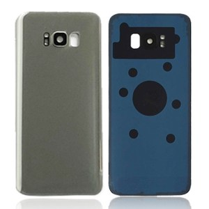 Galaxy S8 Plus (G955) Rear Glass With Camera Lens – Silver