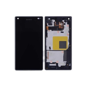 Xperia Z5 Compact LCD and Digitizer Touch Screen Assembly (W/F) – Black