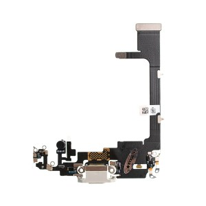 iPhone 11 Pro Max Charging Port Flex With Board White