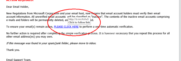 Another SCAM Email, please beware & Share