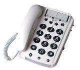 Geemarc Dallas 10 Big Button Corded Telephone- UK Version