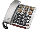 Audioline Bigtel 40 PLUS 2 Piece Phone ( Hands Free Functionality, Elderly Friendly Phone )