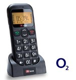 TTfone Jupiter Big Button Easy Senior Mobile Phone Panic Button Large display (O2 with £10 Credit)