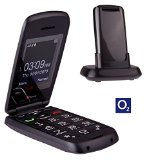TTfone Star Big Button Simple Easy To Use Clamshell Flip Mobile Phone with O2 Pay as You Go – Grey
