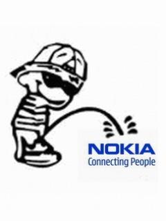 Piss On Nokia Wallpaper