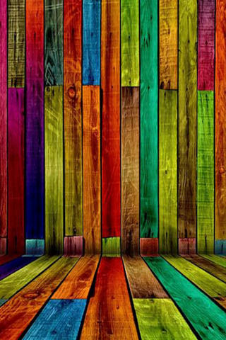 Cool 3d Wallpapers For Ipod Touch Download Colorful Wood Iphone Wallpaper Mobile