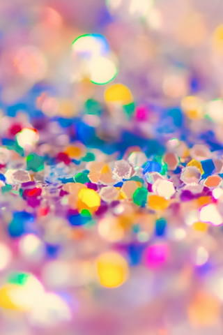 Download 3D Colorful Glitter iPhone Wallpaper  Mobile