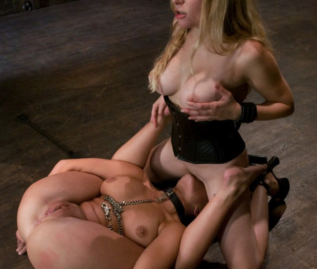 Girl In First Time Bondage And Domination