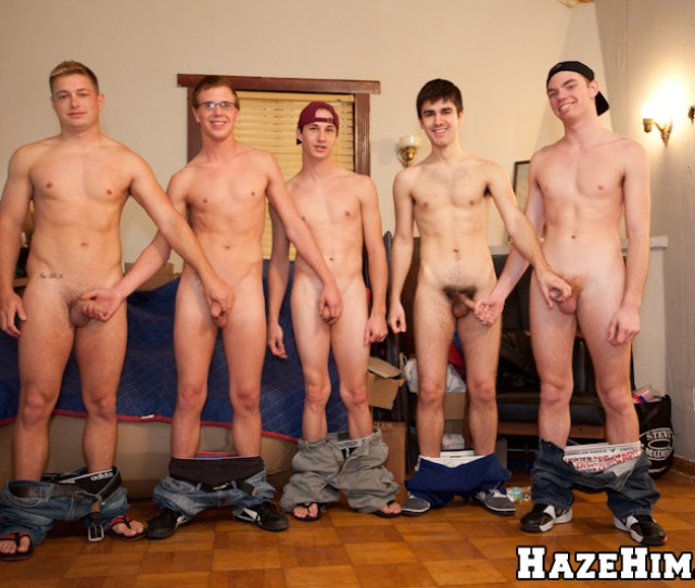 Five Horny College Guys Needs A Dick Badly