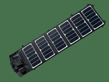 Solcellepanel-39W-Utbrettet 5V USB og 12V uttak