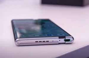 The rollable concept of a smartphone features and their details
