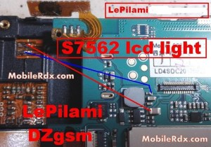 Samsung GTS7562 Display Problems Jumper Solution | MobileRdx