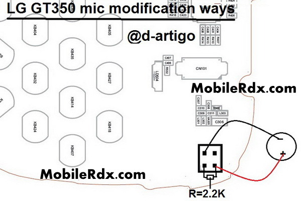 Lg GT350 Mic Not Working Problem Repair Solution