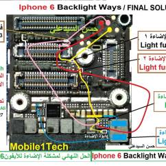 Back Of Iphone 4s Diagram Gastric Antrum Anatomy 6 Lcd Display Light Solution Jumper Problem Ways | Mobilerdx