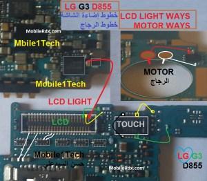 Lg G3 D855 Display Light Problem Jumper Ways  MobileRdx