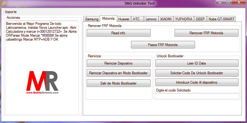 DG Unlocker Tool