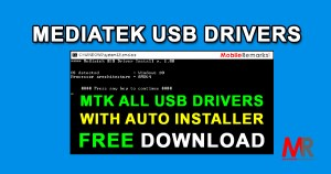 Mediatek (MTK) All USB Drivers Download For Windows