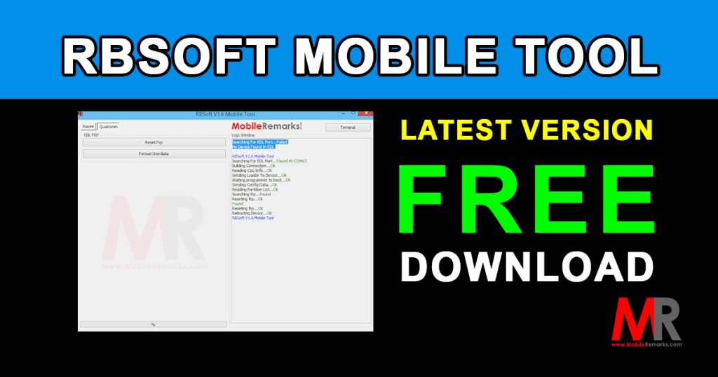 RBSoft Mobile Tool Latest Version Download