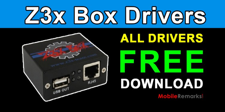 Download Z3x Box All Drivers For Windows