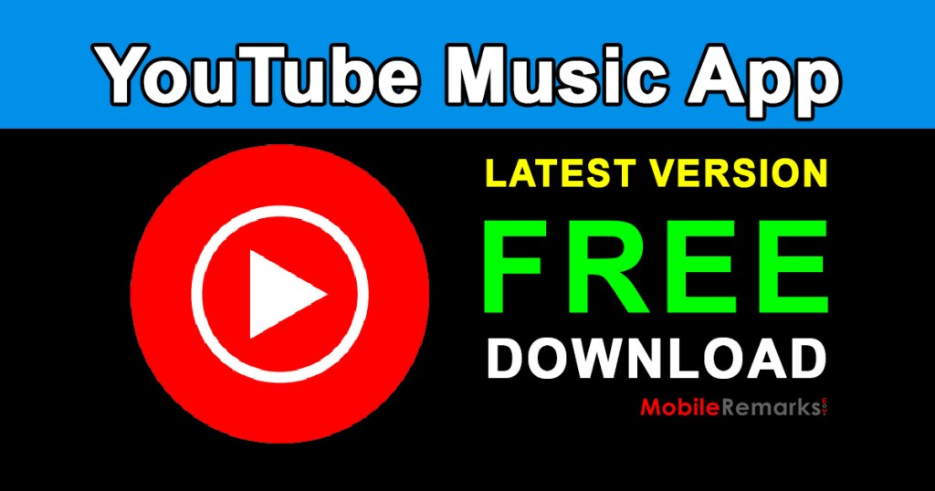 YouTube Music App Free Download