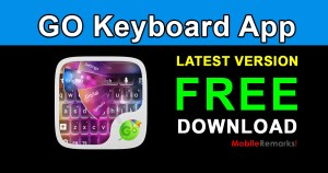 GO Keyboard App Free download (Emoji Keyboard)
