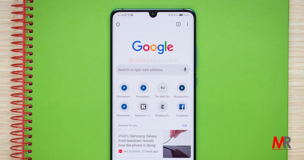 Google is testing its mobile browser's new video feature