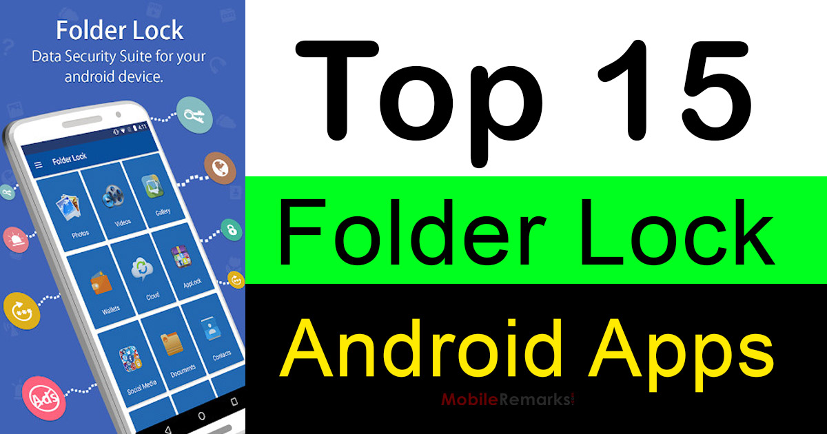 Top 15 Folder Lock Apps For Android