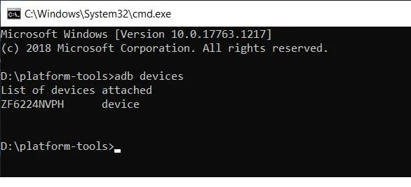 Boot Device to Fastboot