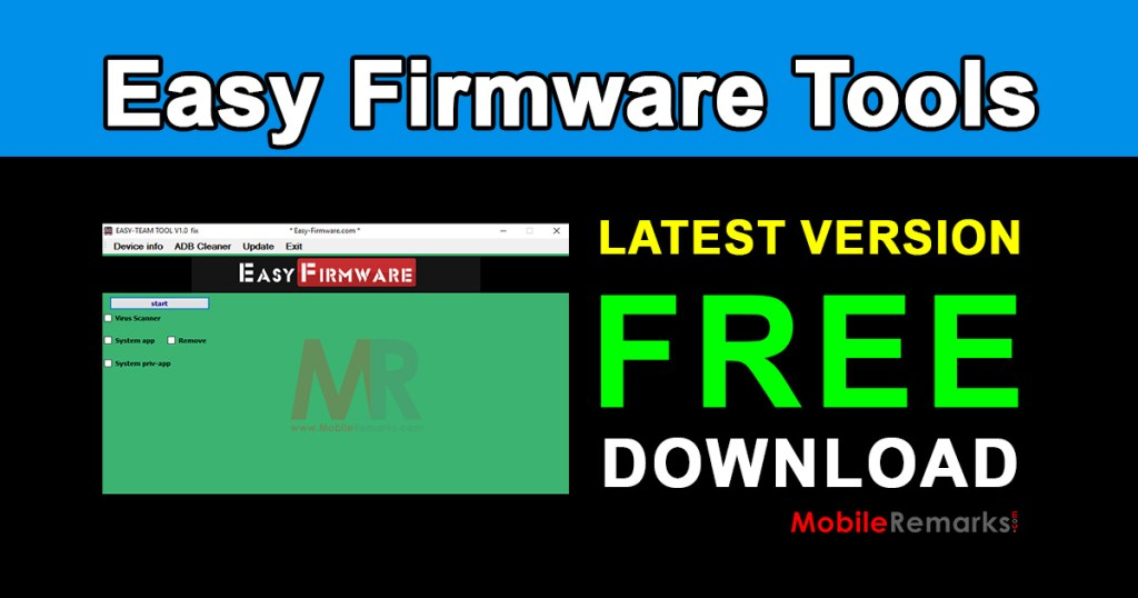 Easy Firmware Tools Latest Version Free Download