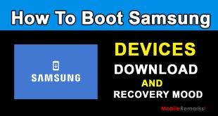 How to Boot Samsung Devices Recovery and Download Mode