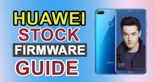 How to Install Stock Firmware on Huawei Smartphone