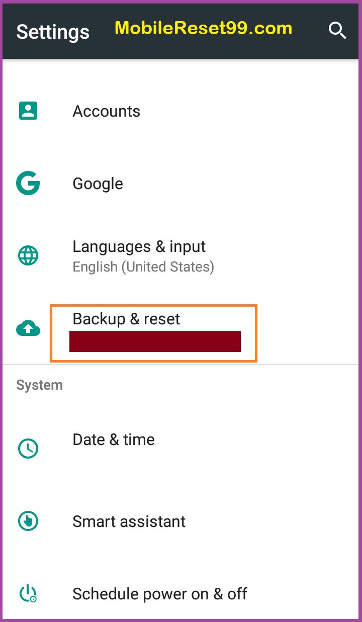 Gionee F205 Reset & Unlock When Forgot Password