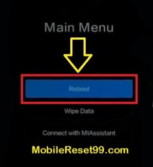 Xiaomi Reboot