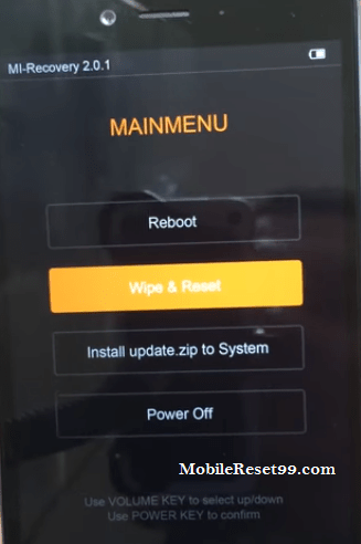 Hard Reset Mi 4i Mobile & Remove Pattern Lock