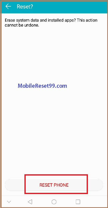 Hard Reset Huawei Y6 2018 Mobile & Remove Pattern Lock