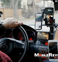 the best place to mount your smartphone in your car car mount reviews 2017 mobile reviews eh [ 1280 x 720 Pixel ]