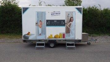 Mobiles Bad Typ 2er » Mobile Badezimmer und Duschanlagen
